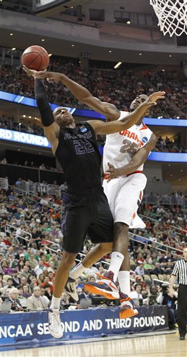 NCAA Kansas St Syracuse Basketball