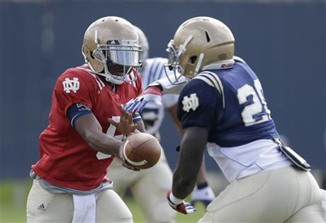 Everett Golson, Cierre Wood