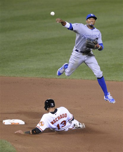 Alcides Escobar, Manny Machado