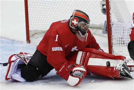 men's ice hockey game at the 2014 Winter Olympics, Saturday, Feb. 15