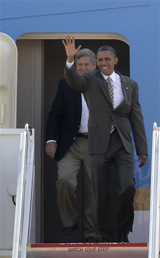 Barack Obama, Tom Vilsack