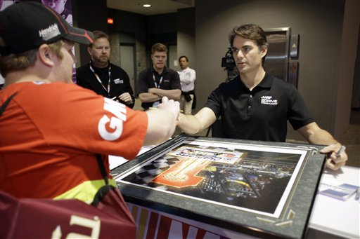 Justin McAbee, Jeff Gordon