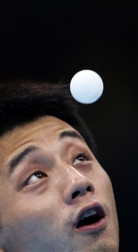 London Olympics Table Tennis