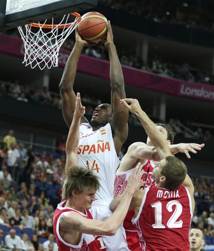 Serge Ibaka, Andrei Kirilenko, Sergey Monya