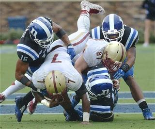 Boston College Duke Football