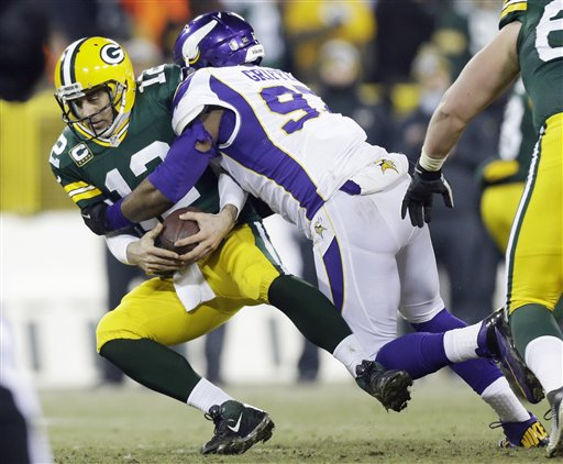 Aaron Rodgers,  Everson Griffen