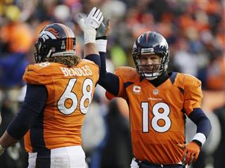Peyton Manning, Zane Beadles