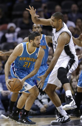 Greivis Vasquez, Tim Duncan