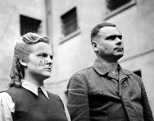 Associated Press International News Germany WWII NAZI CAMP GUARDS ARRESTED