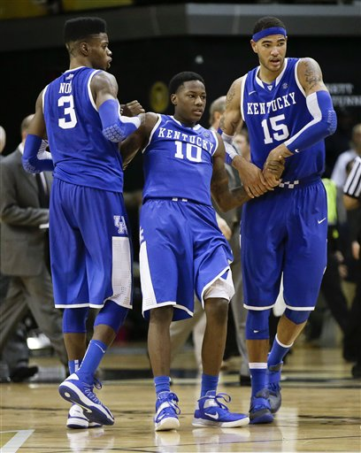 Nerlens Noel, Archie Goodwin, Willie Cauley-Stein