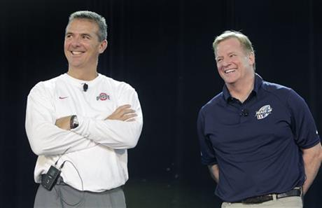 Roger Goodell, Urban Meyer
