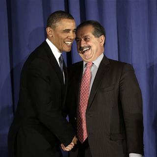 Barack Obama, Andrew N. Liveris