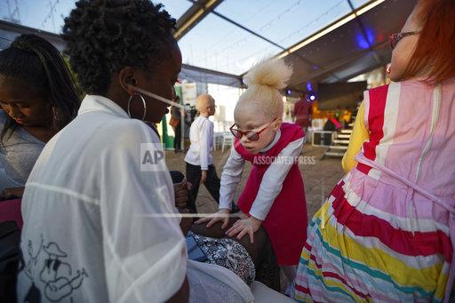 Kenya Albino Beauty Pageant