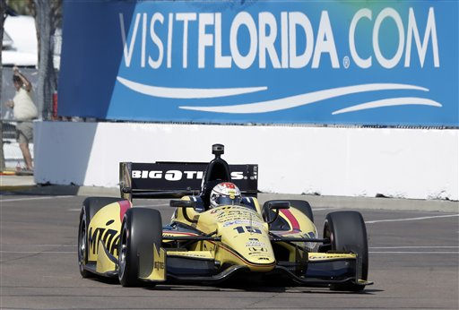 ... auto race Friday, March 22, 2013, in St. Petersburg, Fla. (AP Photo