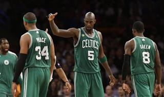 Paul Pierce, Kevin Garnett, Jeff Green