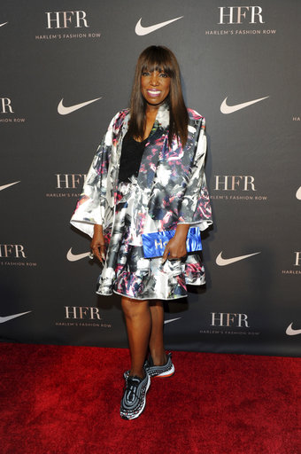 fe9838e31ce Fashion Harlem Fashion Row x Nike. Essence magazine editor-at-large Mikki  Taylor attends a fashion show and awards ceremony