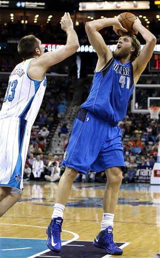 Dirk Nowitzki, Ryan Anderson