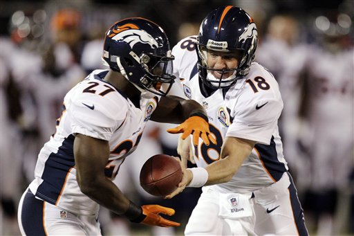Peyton Manning, Knowshon Moreno