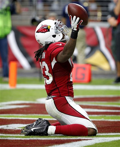 nfl Arizona Cardinals Chris Johnson GAME Jerseys