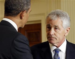 Barack Obama, Chuck Hagel