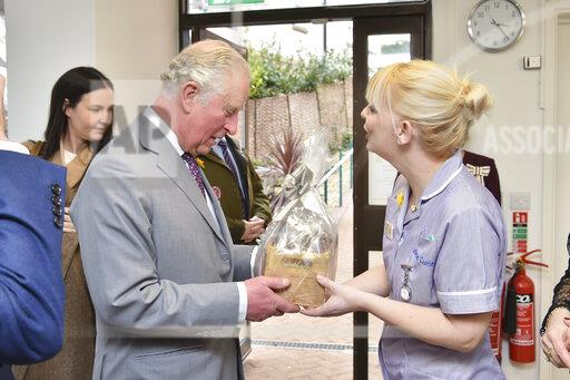 The Prince of Wales visit to south Wales