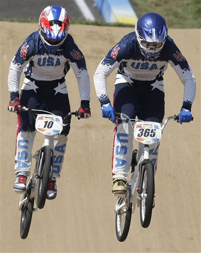 Beijing Olympics Cycling BMX Race