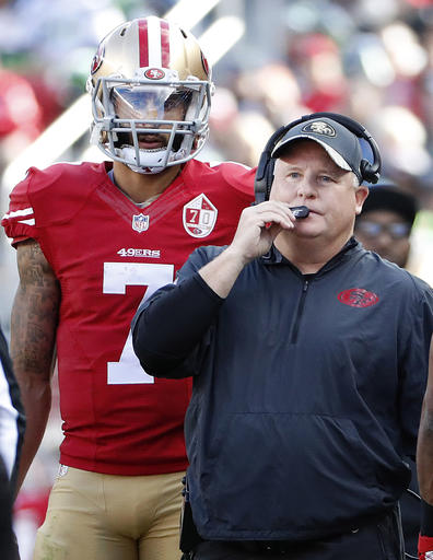 Colin Kaepernick, Chip Kelly