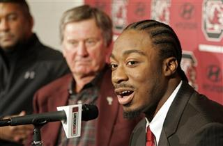 Marcus Lattimore, Steve Spurrier, Dr. Jeffery Guy