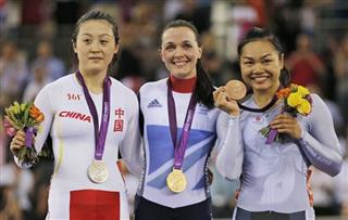 Victoria Pendleton, Guo Shuang, Lee Wai Sze