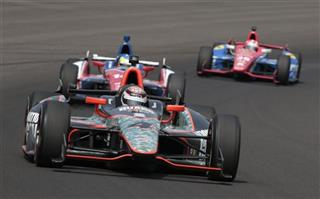 JR Hildebrand, Graham Rahal, Mike Conway