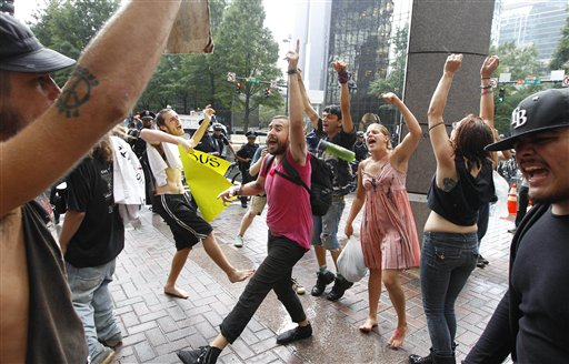 Democratic Convention Protests