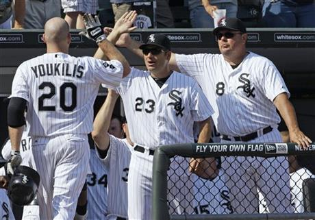 Kevin Youkilis, Robin Ventura, Mark Parent