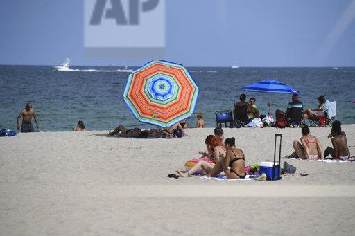Fort Lauderdale Beach As South Florida Beaches Set To Close July Fourth Weekend