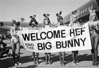 Playboy Bunnies Airport 1970