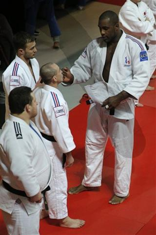 Teddy Riner, Franck Chambily
