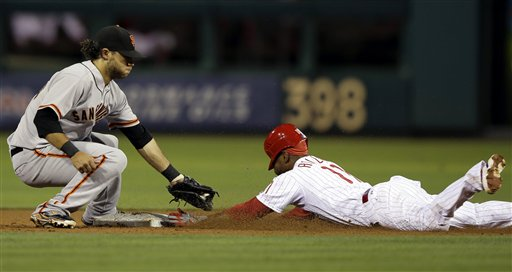 Jimmy Rollins, Brandon Crawford