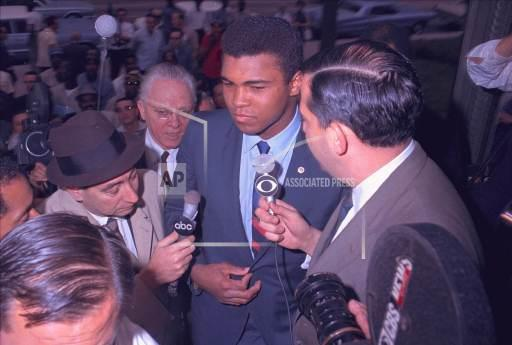 Associated Press Sports Texas United States Boxing CASSIUS CLAY COSELL