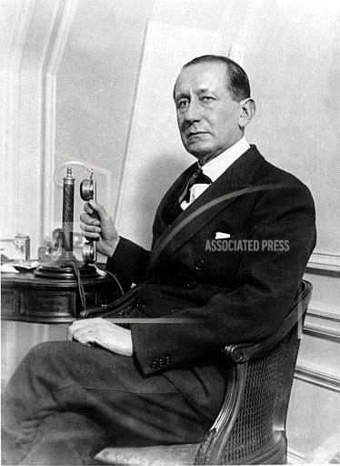 Associated Press International News France GUGLIELMO MARCONI