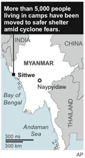 MYANMAR CYCLONE