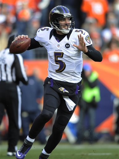 Ravens Broncos Football