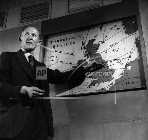 Creative Copyright Hulton-Deutsch Collection/Corbis/AP Images A    HU021659 Weather Forecast