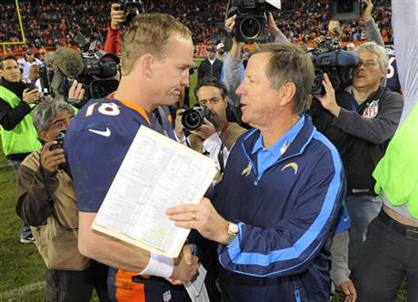 Peyton Manning, Norv Turner