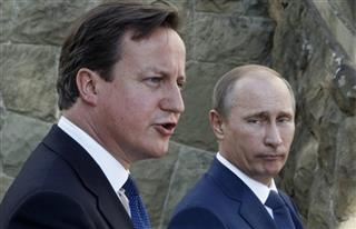 Vladimir Putin, David Cameron