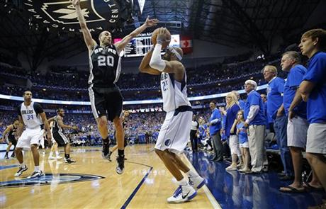 Vince Carter buzzer beater lifts Mavs over Spurs