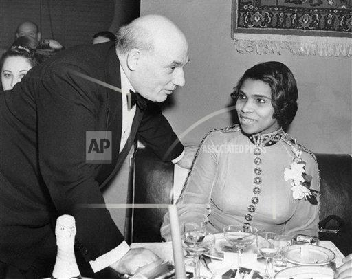 Watchf Associated Press Domestic News  New York United States APHS130228 Marian Anderson S.Murek