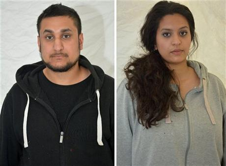UK couple guilty of terror plot