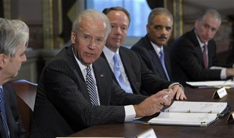 Joe Biden, Eric Holder, Mike Gallagher