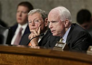 James Inhofe, John McCain