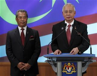 Najib Razak, Muhyiddin Yassin