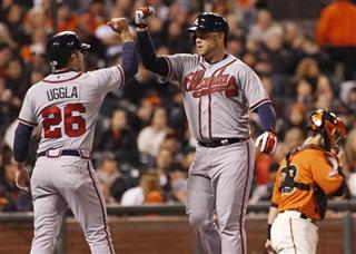 Brian McCann, Dan Uggla, Buster Posey